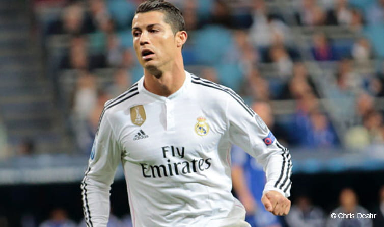 Cristiano Ronaldo is looking to win his third Champions League title
