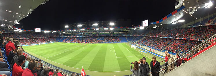in basel stadium the final takes place