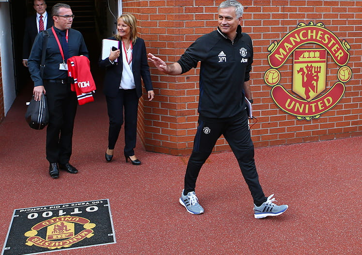 The New Manchester United Manager, Jose Mourinho