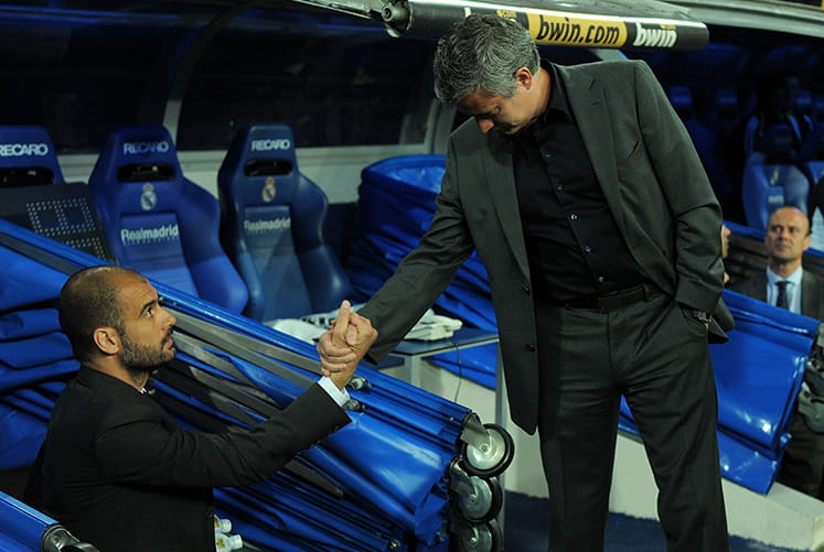 The Rivalry Between Guardiola and Mourinho Comes to the Premiership