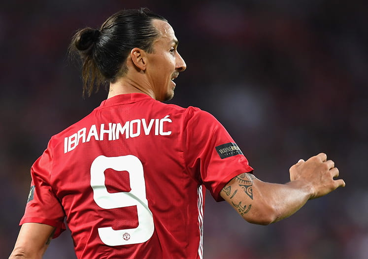 Zlatan Ibrahimovic is Manchester United's New Striker