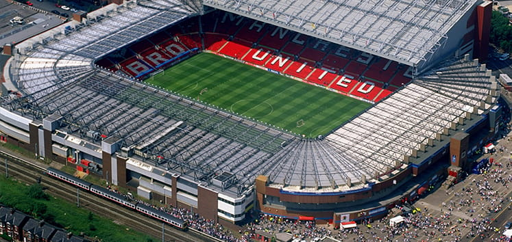 Old Trafford - The Home of Manchester United