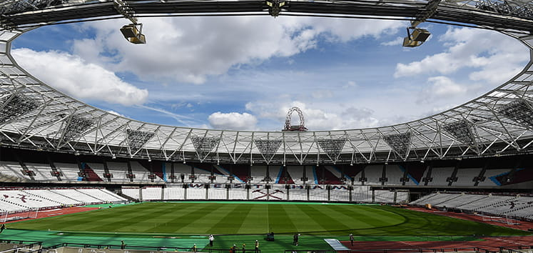 The Queen Elizabeth Olympic Park Stadium