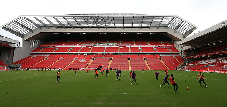 the kop end at anfield