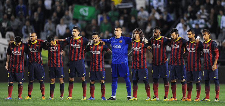 the barcelona squad