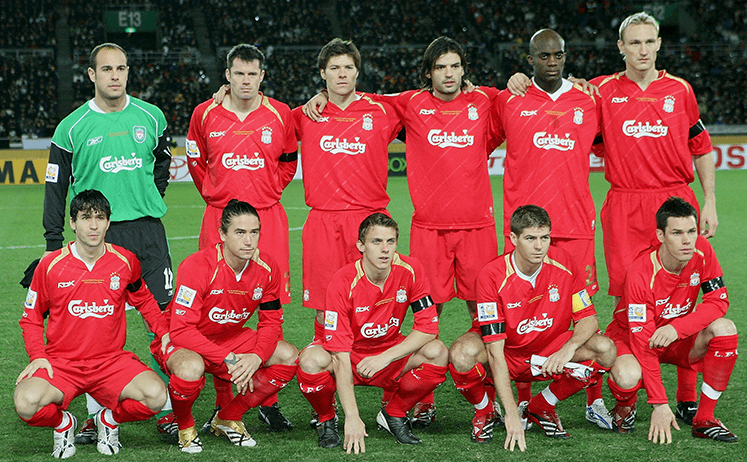 the liverpool squad