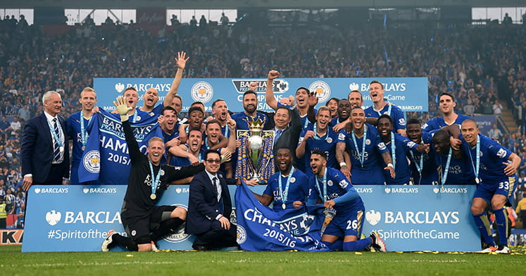 Leicester City EPL win