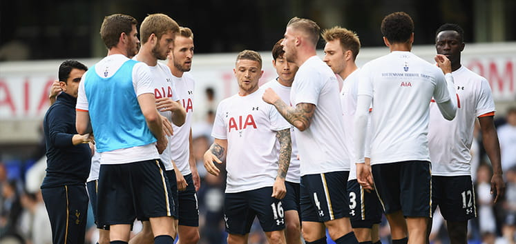 Tottenham Hotspur Team Training