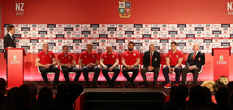 British & Irish Lions 2017 Squad Announcement