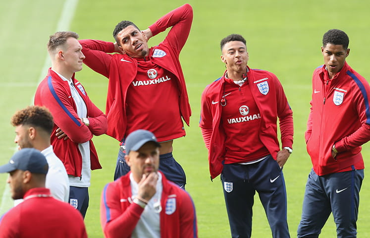 England Football Squad