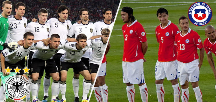 Germany Chile Preview