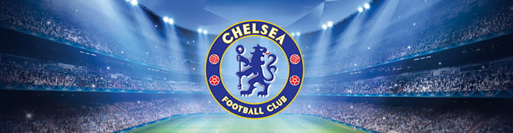 Chelsea badge and stadium