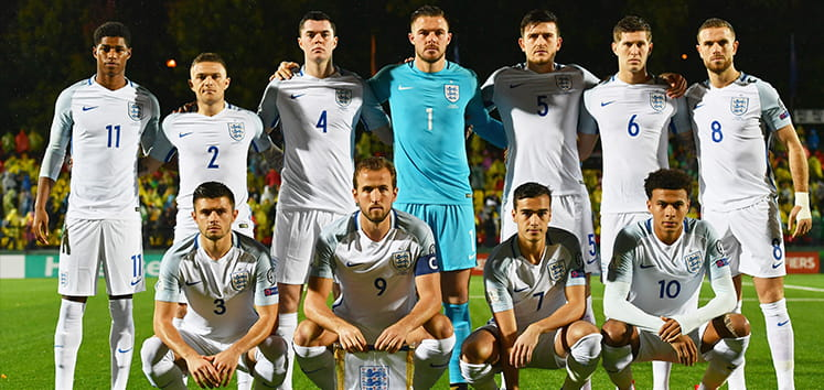 The England squad