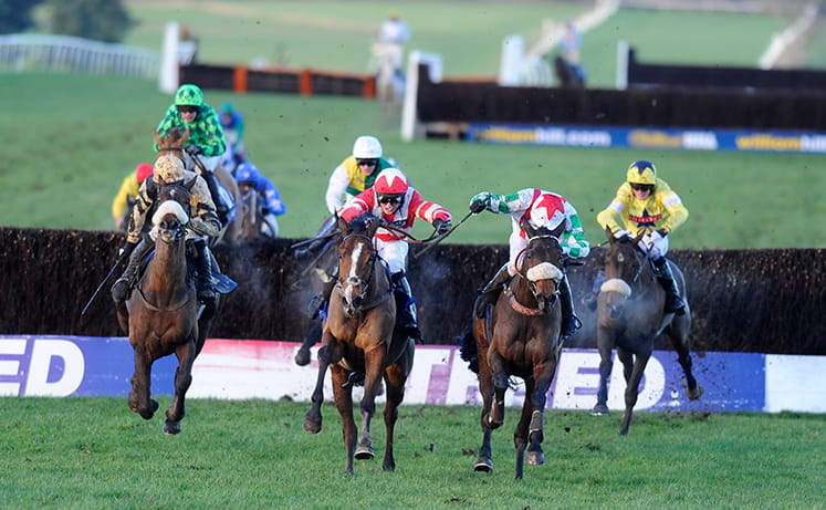 Horses in the mix at the Welsh Grand National