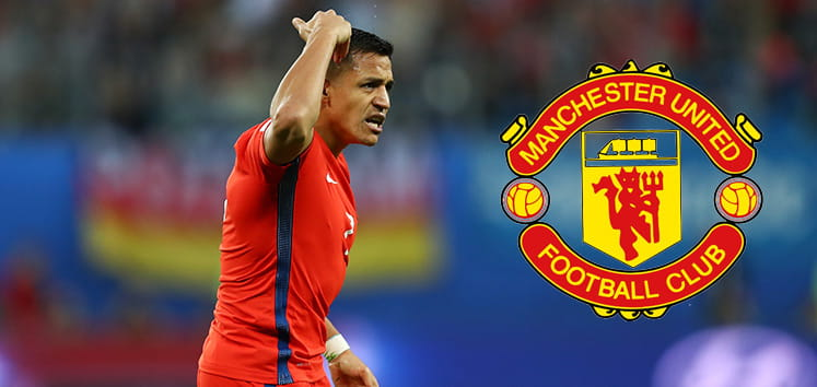 Alexis is now a Manchester United player