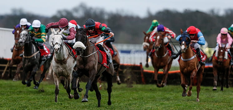 Chasing pack at the bet365 handicap chase