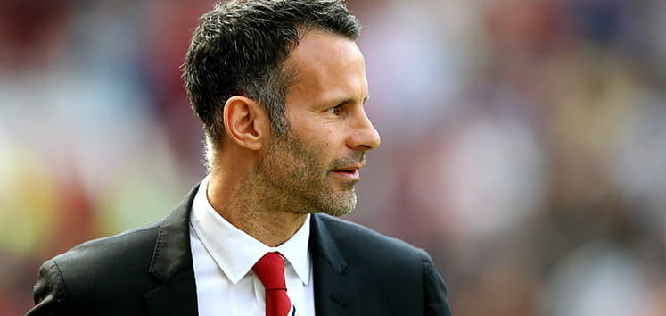Ryan Giggs in a suit