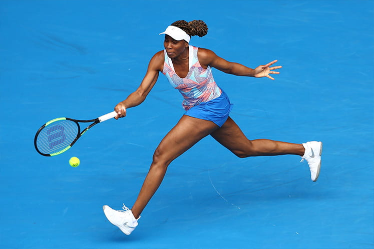 Venus Williams in action