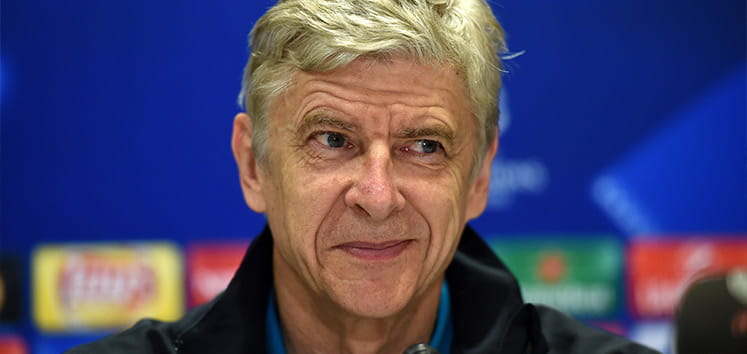 Arsene Wenger during a press conference
