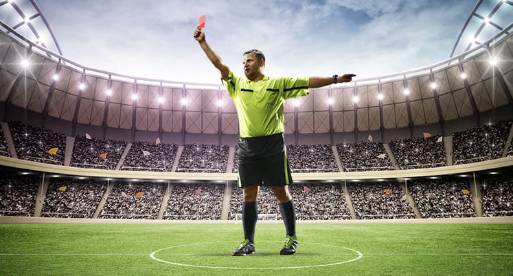 A football referee
