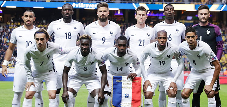 The France squad