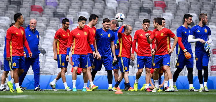 The Spain World Cup 2018 squad