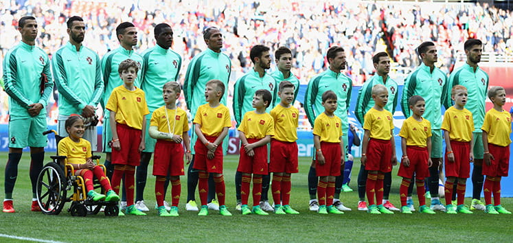 The Portugal 2018 World Cup squad