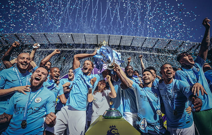 Man City EPL winners