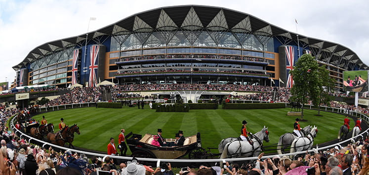 The Grandstand at Royal Ascot