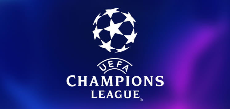 The Champions League logo.