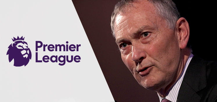Richard Scudamore and the Premier League Logo