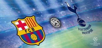 Barcelona v Tottenham