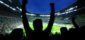 Football fans Champions League