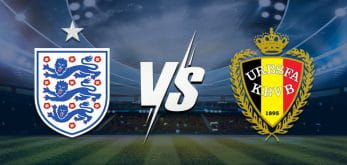 England v Belgium