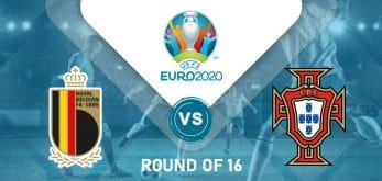 Belgium v Portugal Euro 2020