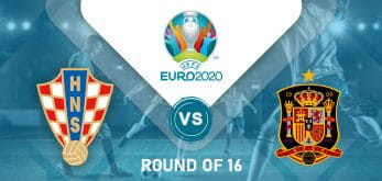 Croatia v Spain Euro 2020