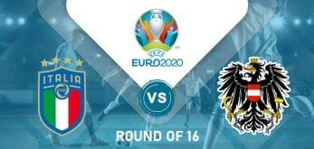 Italy v Austria Euro 2020
