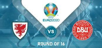 Wales v Denmark Euro 2020