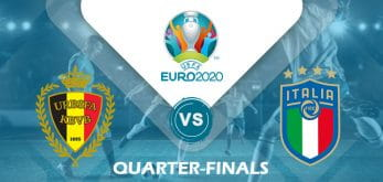 Belgium v Italy Euro 2020