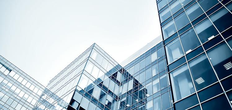 city buildings high