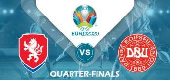 Czech Republic v Denmark Euro 2020