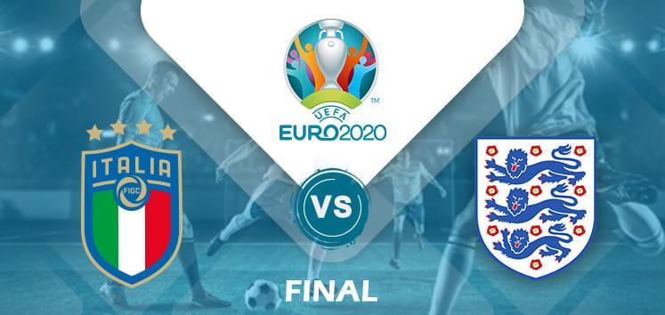 Italy v England Euro 2020 final
