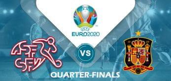 Switzerland v Spain Euro 2020