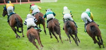 six horses racing